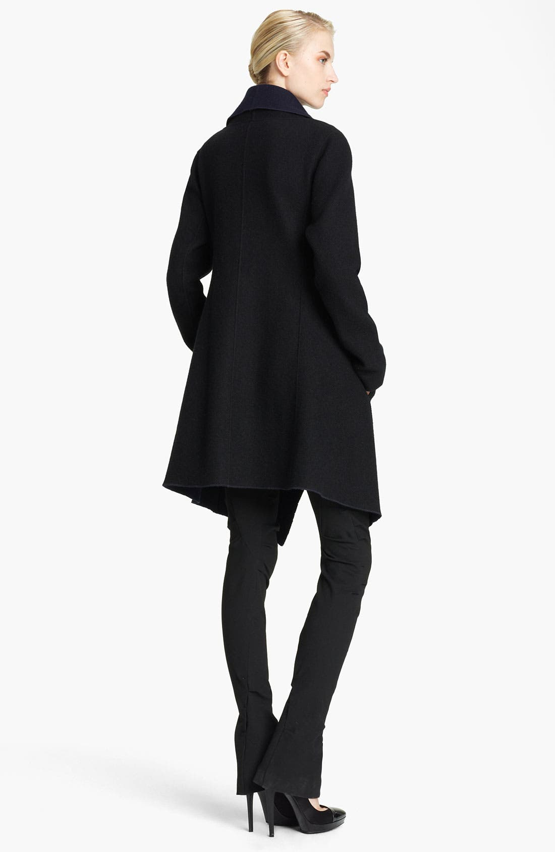 Alternate Image 2  - Donna Karan Collection Draped Reversible Coat