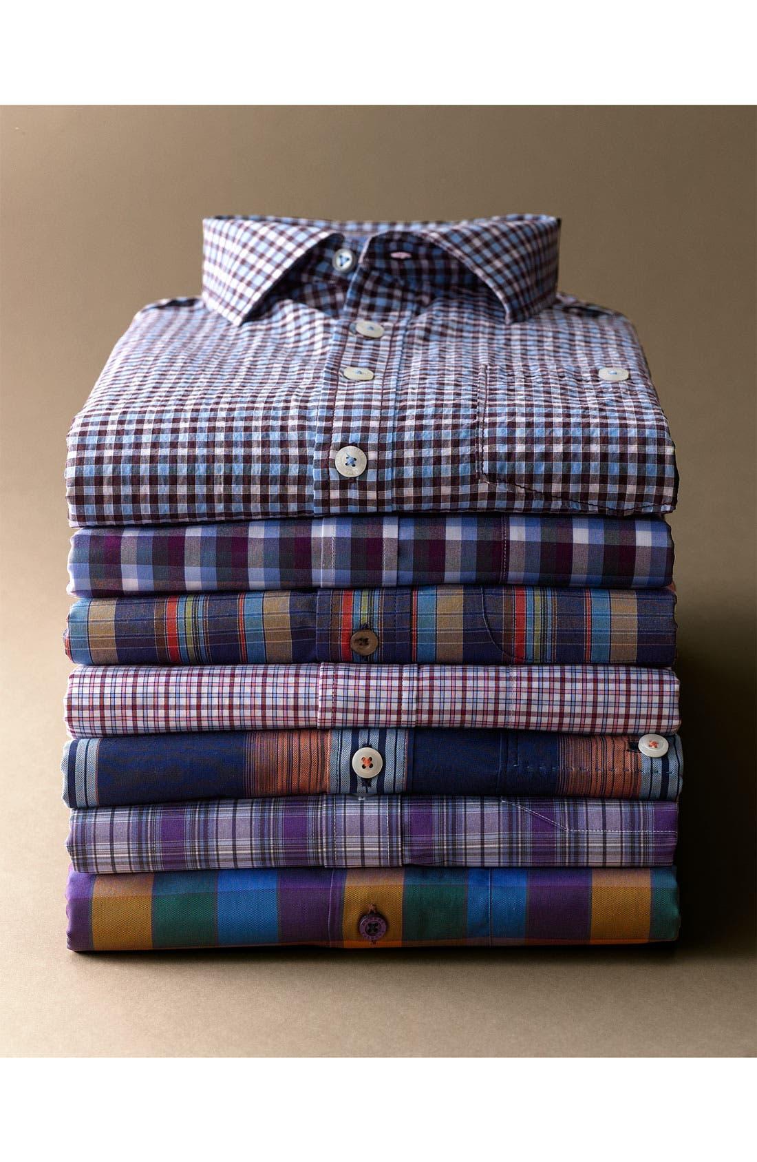 Alternate Image 4  - Tommy Bahama 'Tamarind Plain' Sport Shirt