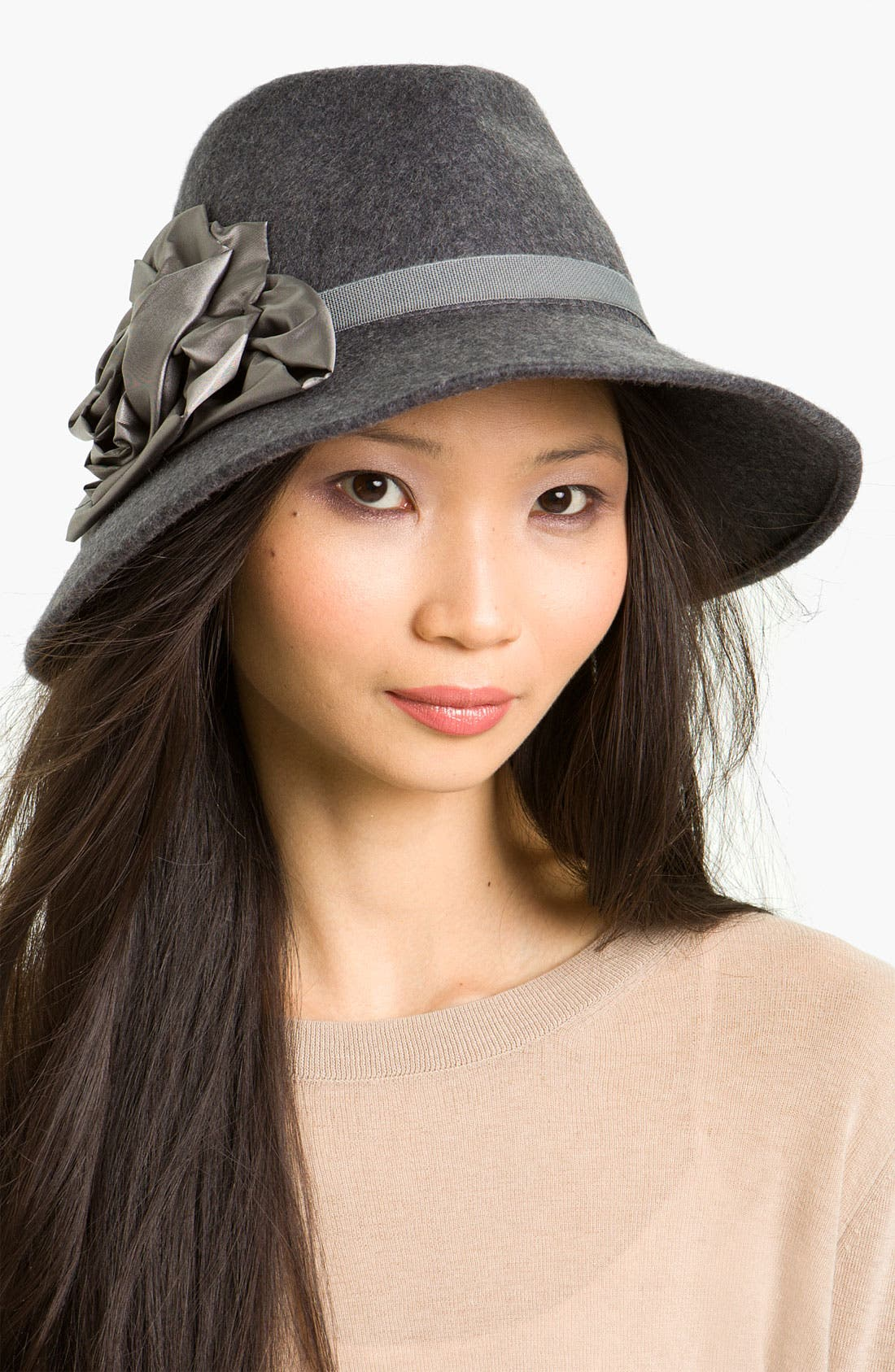 Alternate Image 1 Selected - Halogen® Wool Fedora