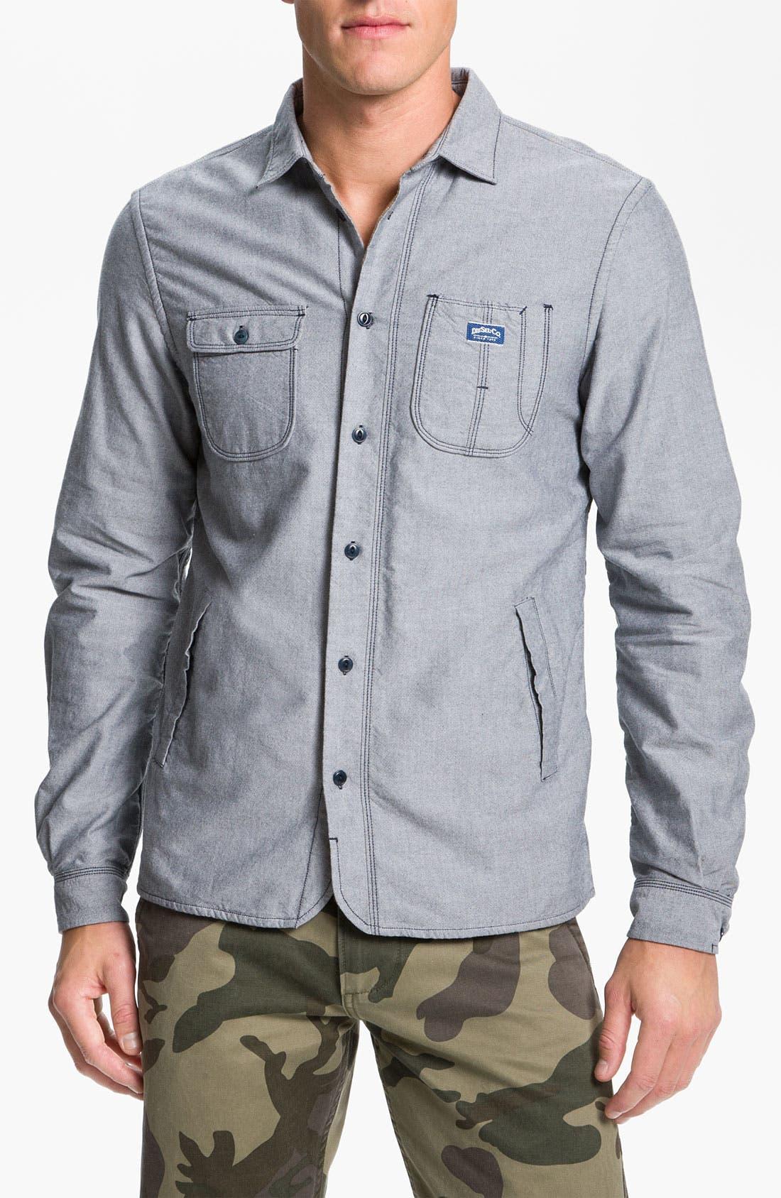 Main Image - DIESEL® 'Schadel' Woven Shirt