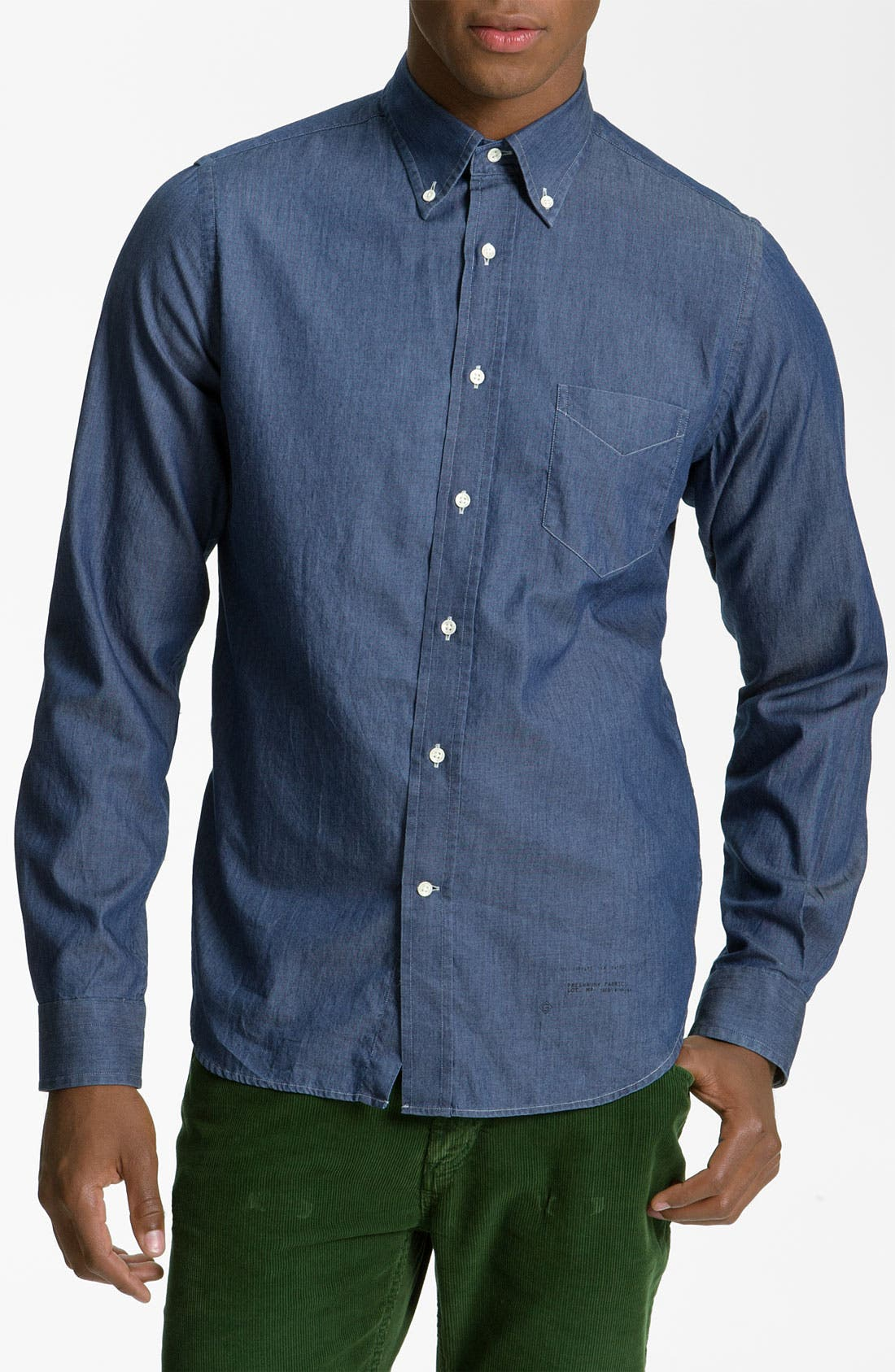 Alternate Image 1 Selected - Gant Rugger 'Luxury' Woven Shirt