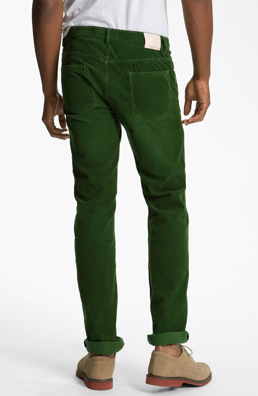 Alternate Image 1 Selected - Gant Rugger 'The Cordster' Slim Fit Corduroy Pants