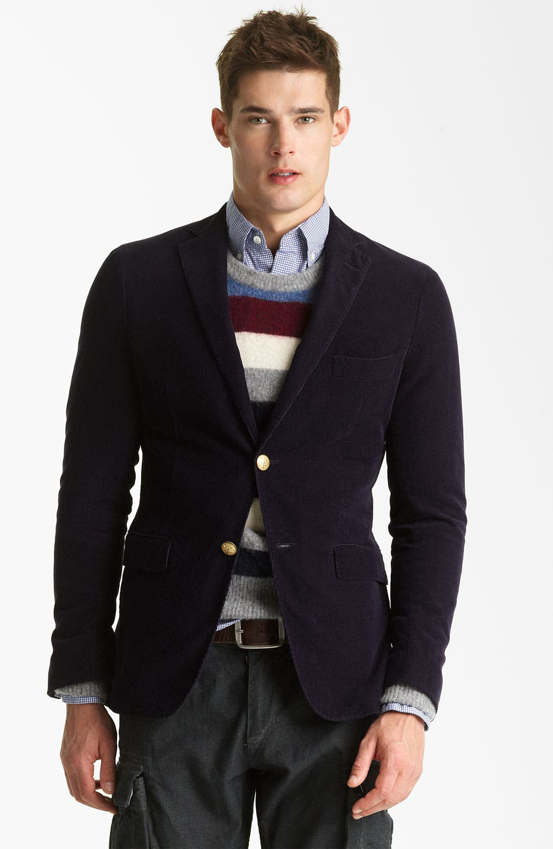 Main Image - Gant by Michael Bastian Cotton Corduroy Blazer