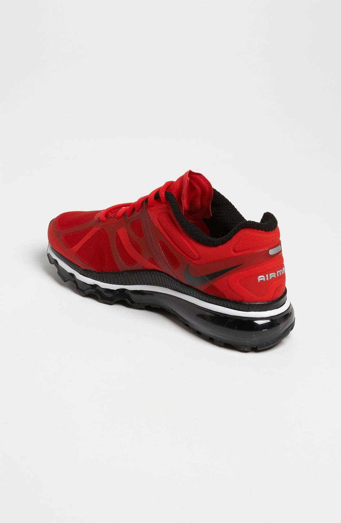 Alternate Image 2  - Nike 'Air Max 2012' Running Shoe (Big Kid)