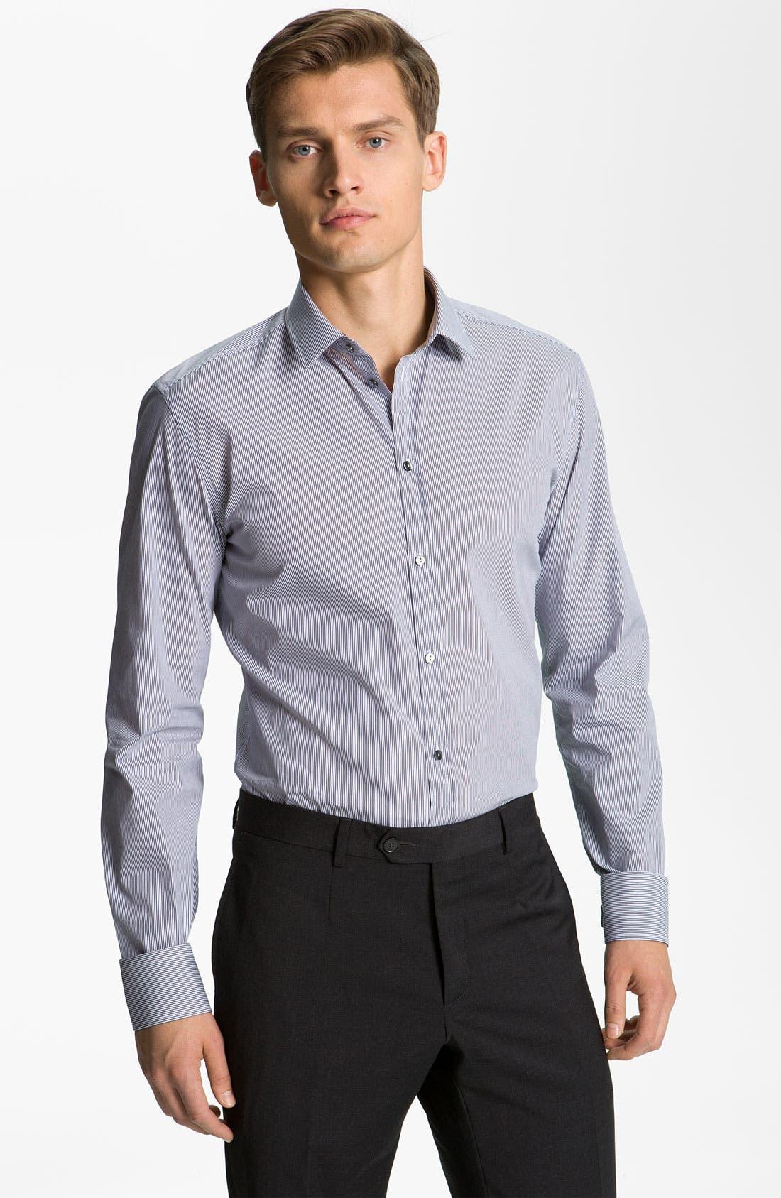 Alternate Image 1 Selected - Dolce&Gabbana Slim Fit Dress Shirt
