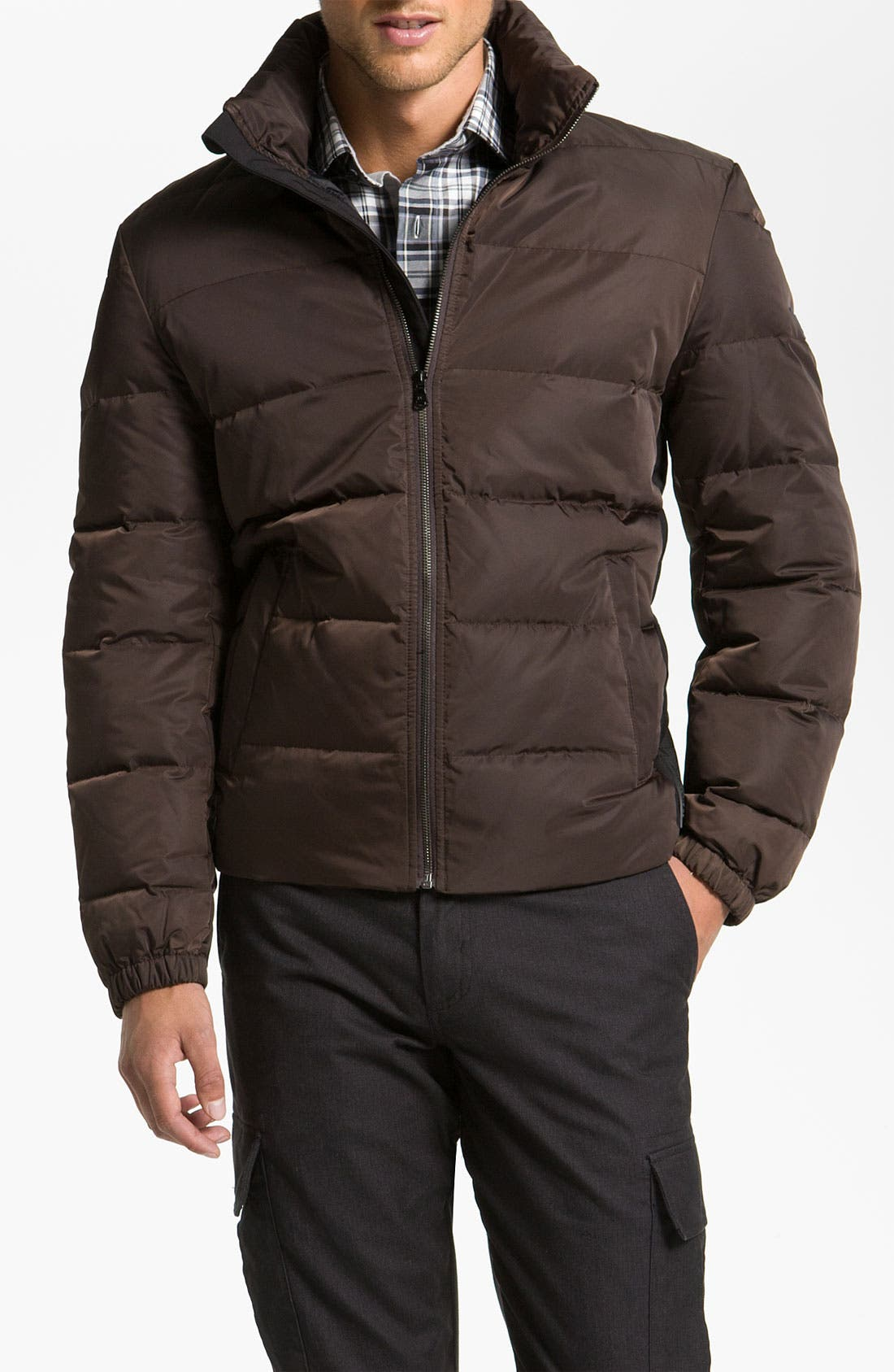 Main Image - Michael Kors 'Stowe' Quilted Down Jacket