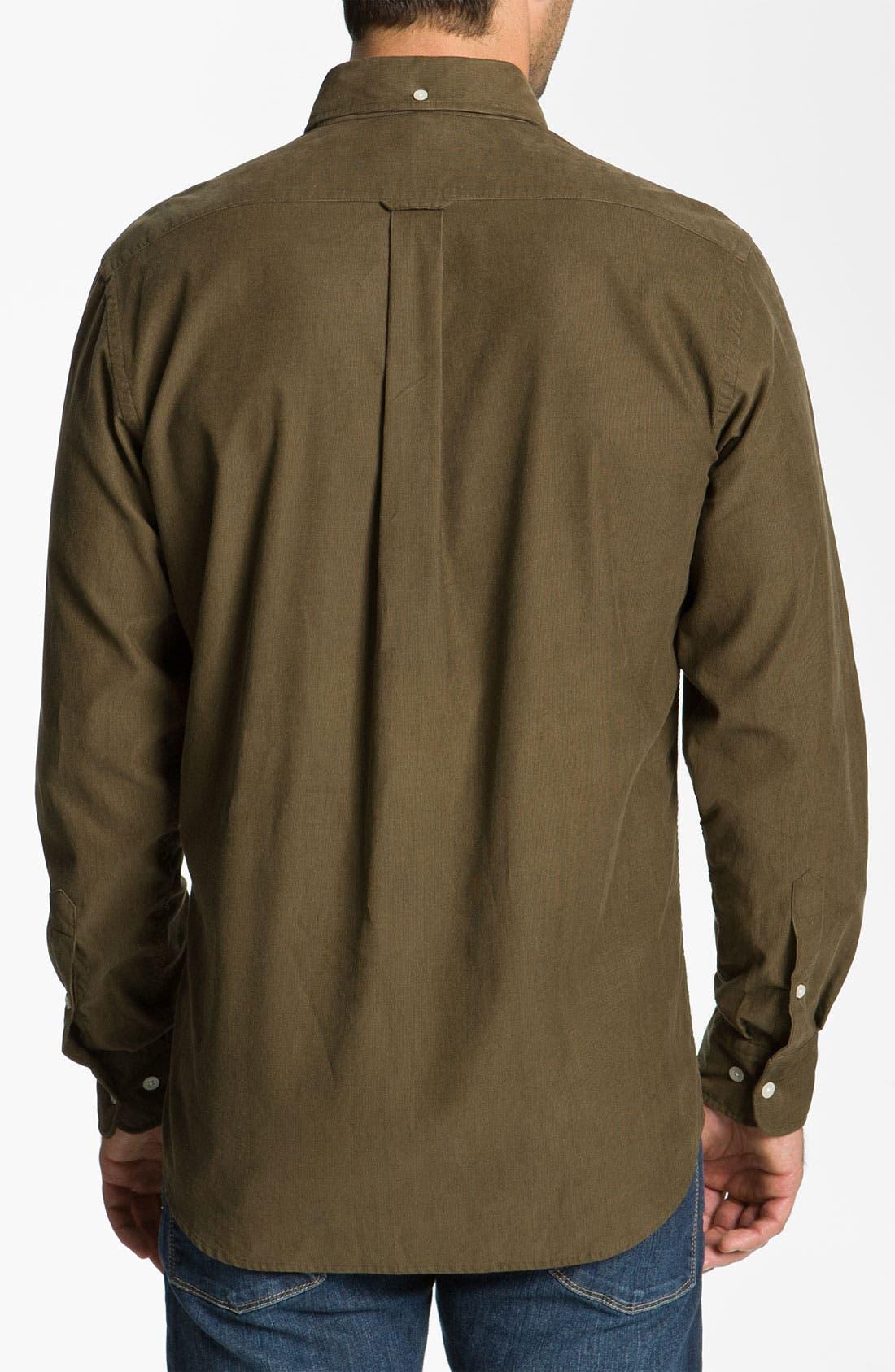 Alternate Image 2  - Façonnable Club Fit Corduroy Sport Shirt