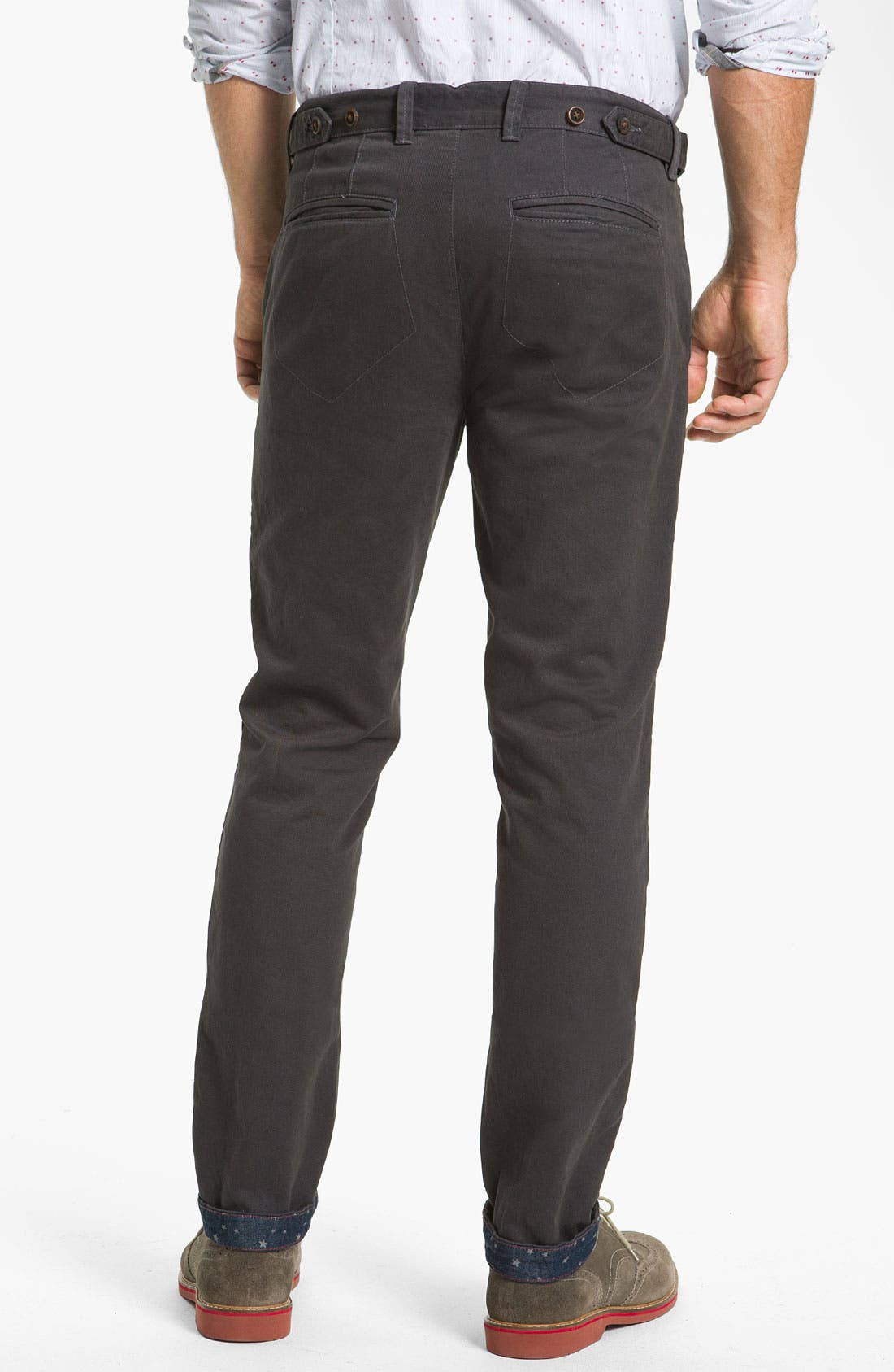 Alternate Image 2  - Ted Baker London 'Lucchin' Slim Fit Chinos