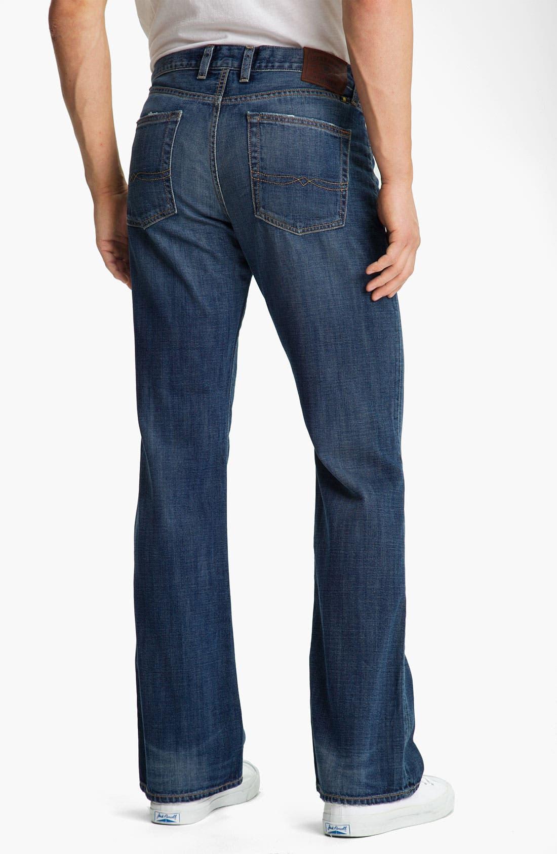 Alternate Image 2  - Lucky Brand Bootcut Jeans (Medium Edwin Warner)