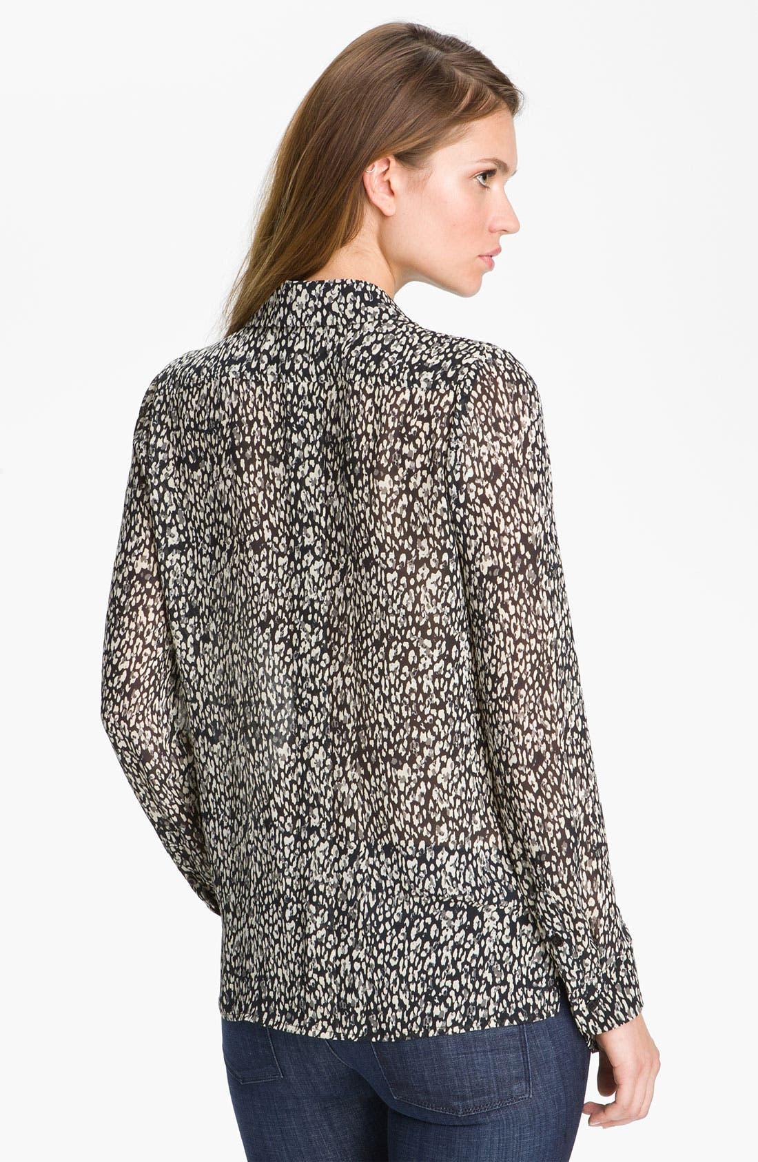 Alternate Image 2  - Mcginn Leopard Print Blouse