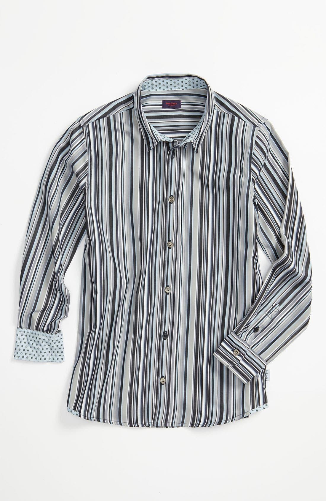 Alternate Image 1 Selected - Paul Smith Junior 'Cartland' Woven Shirt (Big Boys)