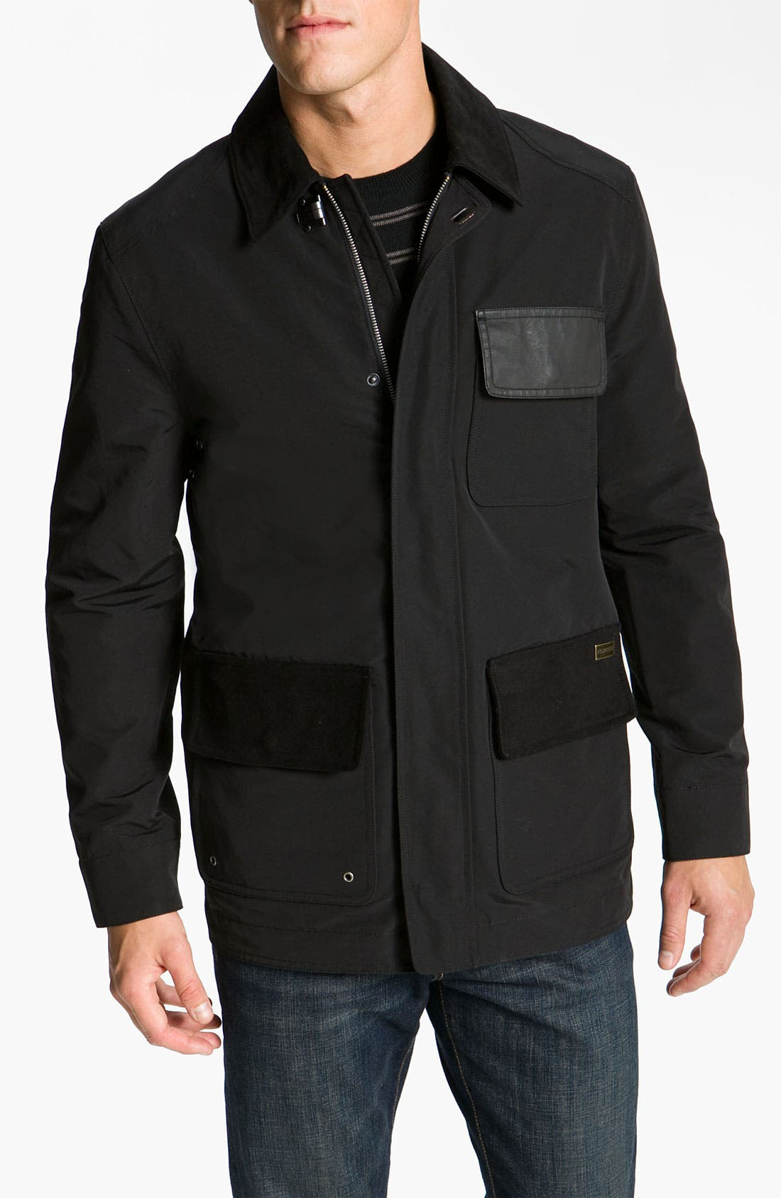 Main Image - Hunter 'New Hunting' Water Repellent Barn Jacket