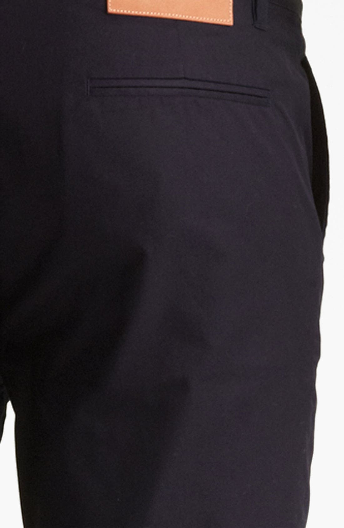 Alternate Image 3  - Shipley & Halmos 'Belmont' Slim Fit Cotton Pants