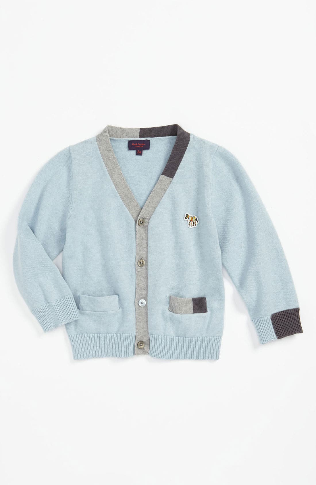 Alternate Image 1 Selected - Paul Smith Junior 'Colin' Cardigan (Toddler)