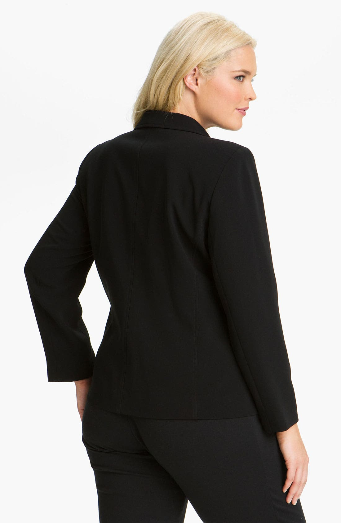 Alternate Image 2  - Louben Seamed Jacket (Plus Size)