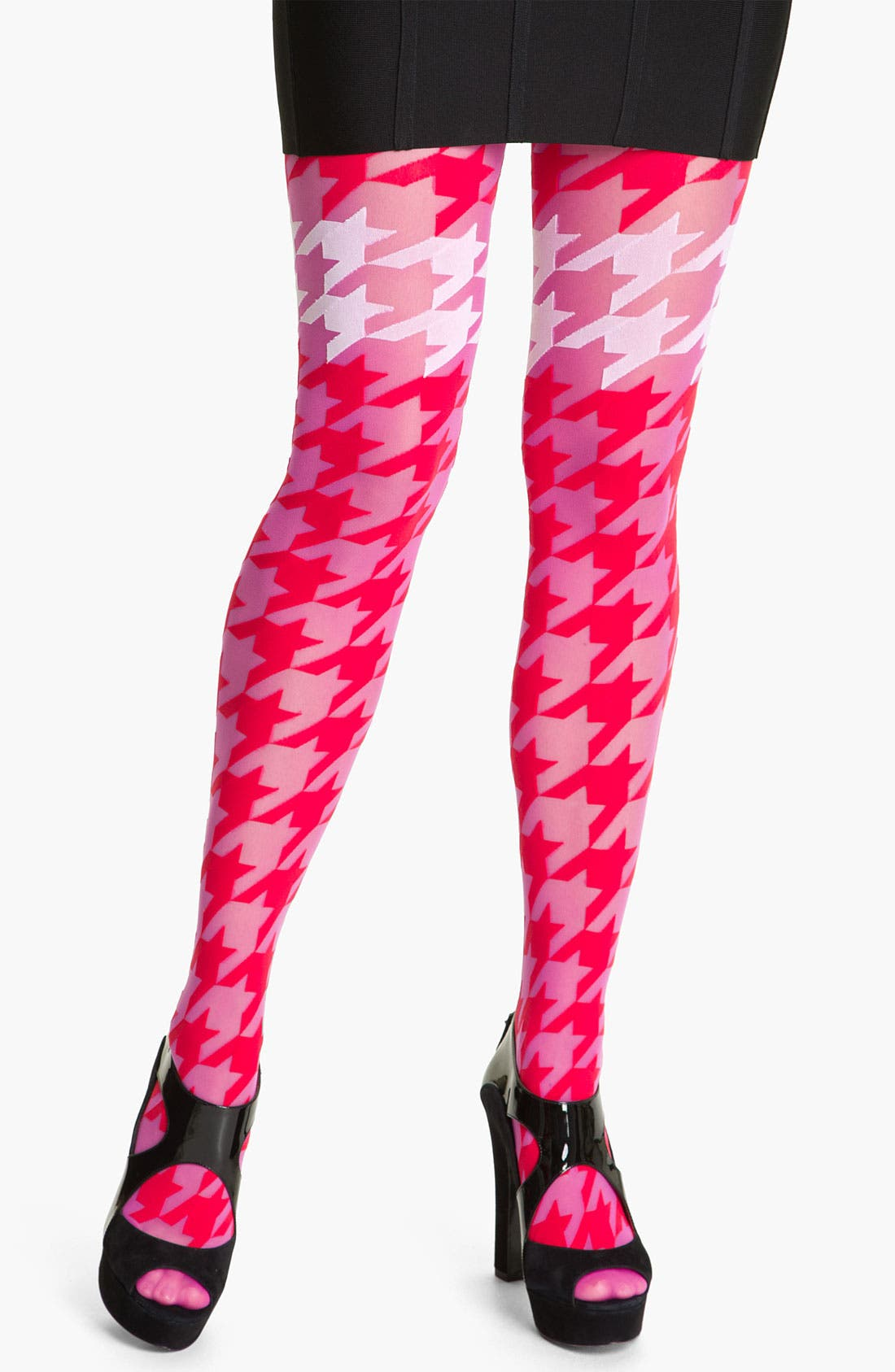 Alternate Image 1 Selected - Pretty Polly 'House of Holland Dogtooth' Tights