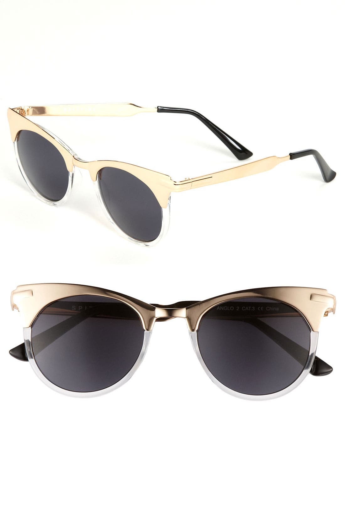Alternate Image 1 Selected - Spitfire 49mm Cat's Eye Sunglasses