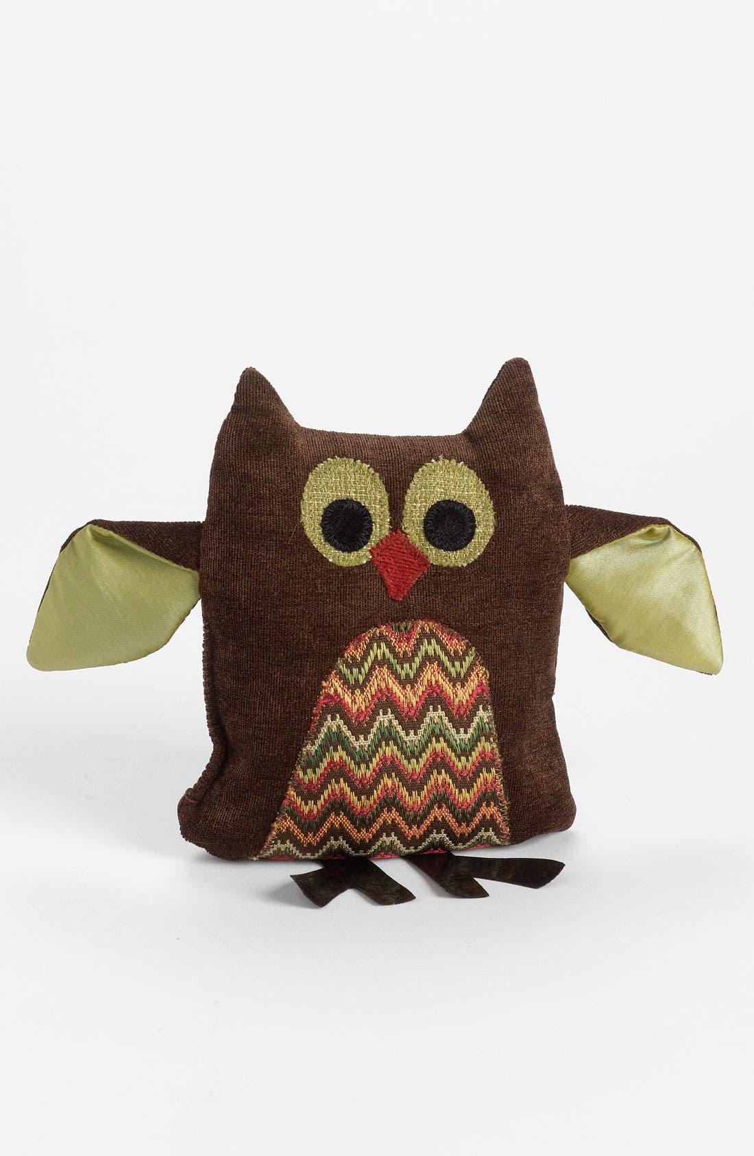 Main Image - Woof & Poof Chevron Pattern Owl Decoration