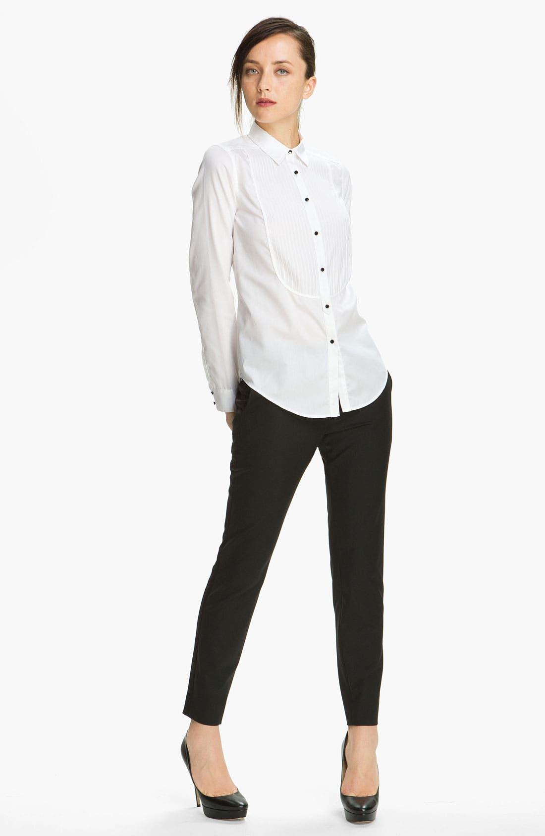 Alternate Image 1 Selected - Elizabeth and James 'Carter' Tuxedo Shirt