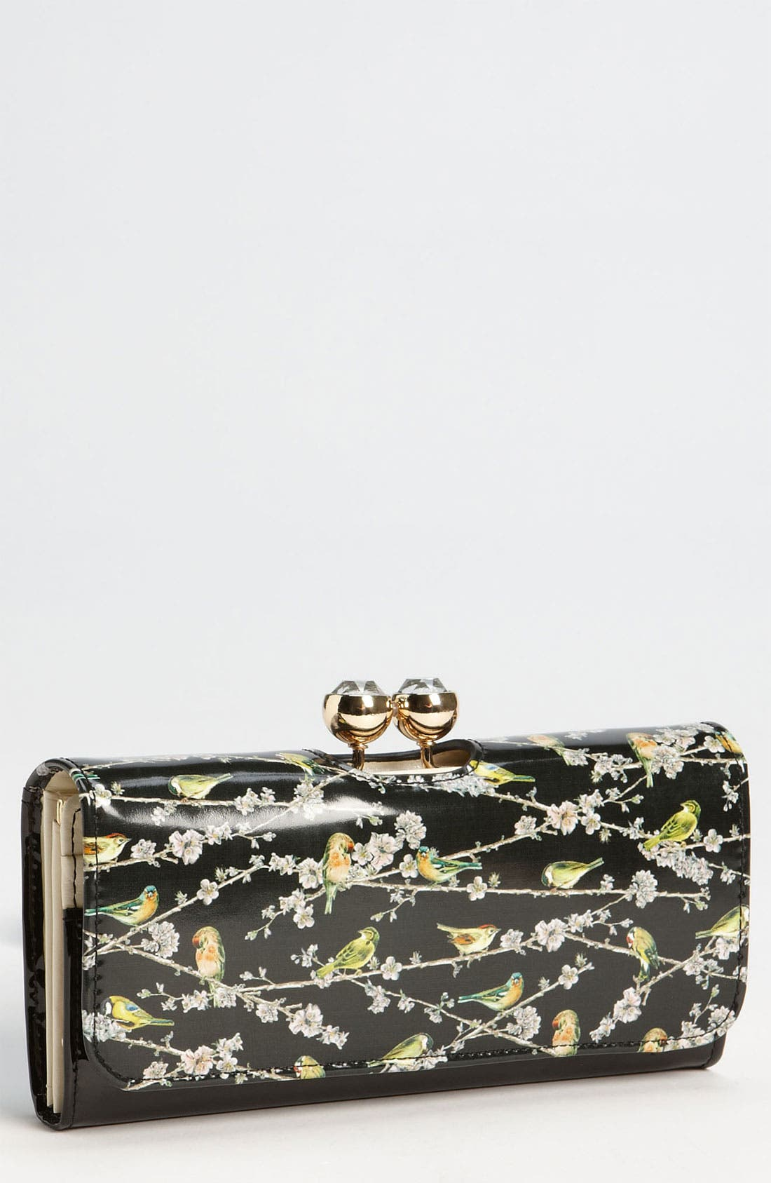 Alternate Image 1 Selected - Ted Baker London 'Birdie Branch' Matinee Wallet
