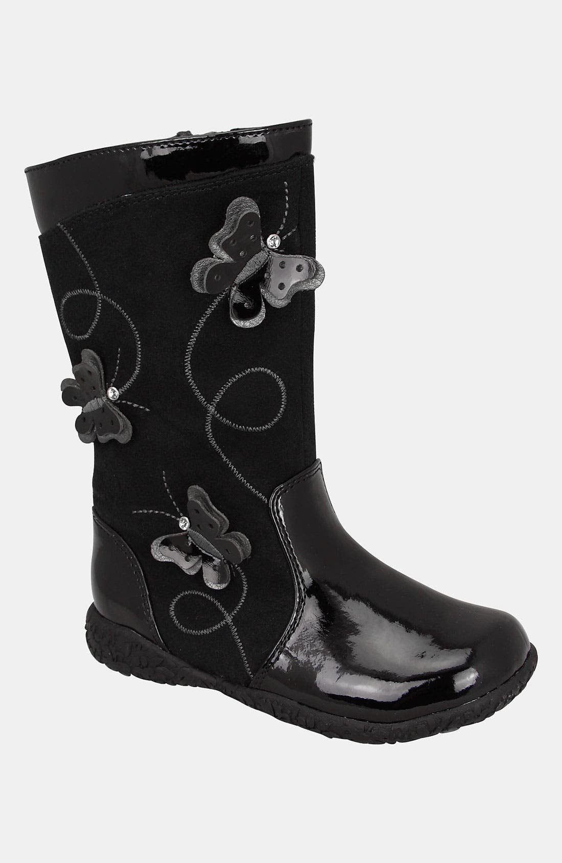 Main Image - Nina 'Rayna' Butterfly Boot (Walker & Toddler)