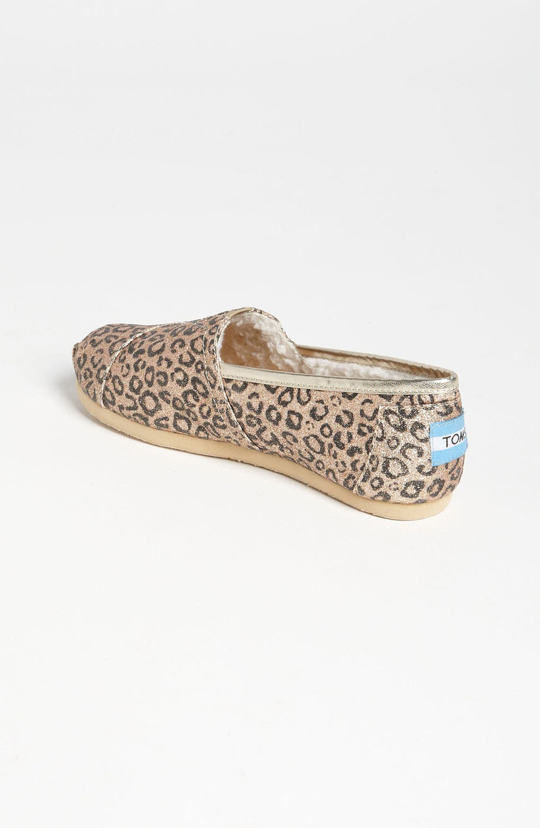 Alternate Image 2  - TOMS 'Classic Youth - Glitter' Print Slip-On (Toddler, Little Kid & Big Kid) (Nordstrom Exclusive)