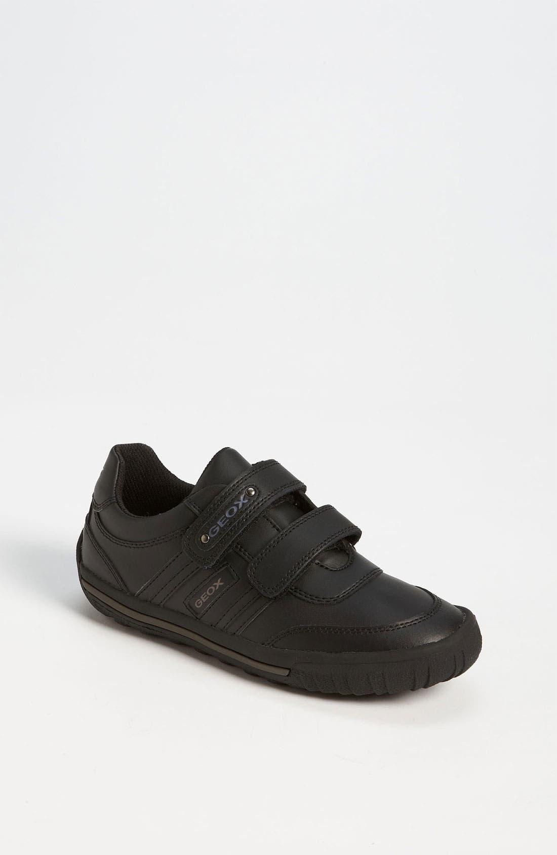 Alternate Image 1 Selected - Geox 'Atlante Smooth' Sneaker (Toddler, Little Kid & Big Kid)