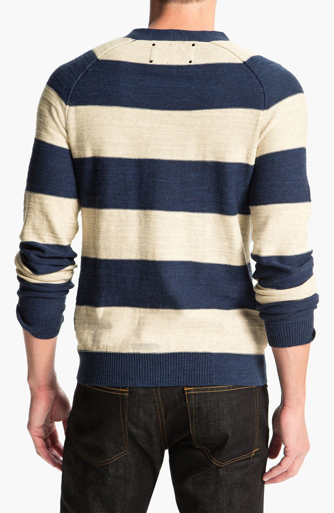 Alternate Image 2  - R44 Rogan Standard Issue Stripe Cardigan