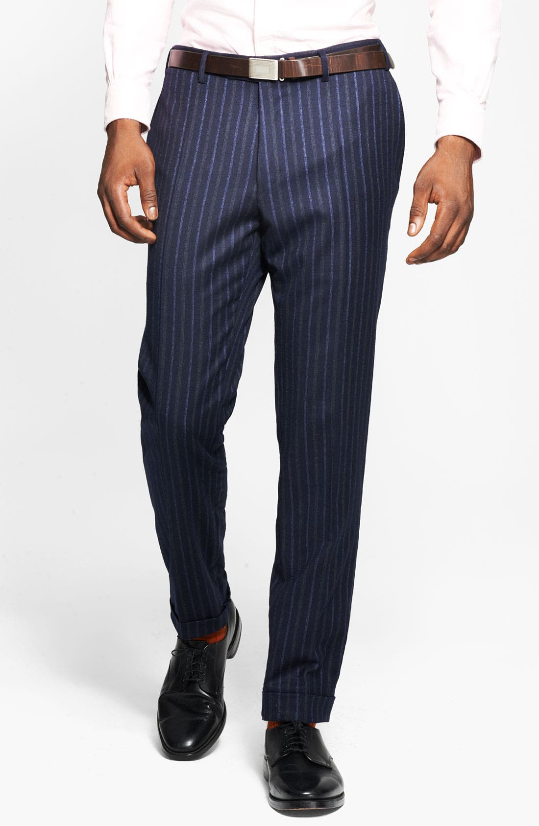 Alternate Image 3  - Canali Chalk Stripe Suit