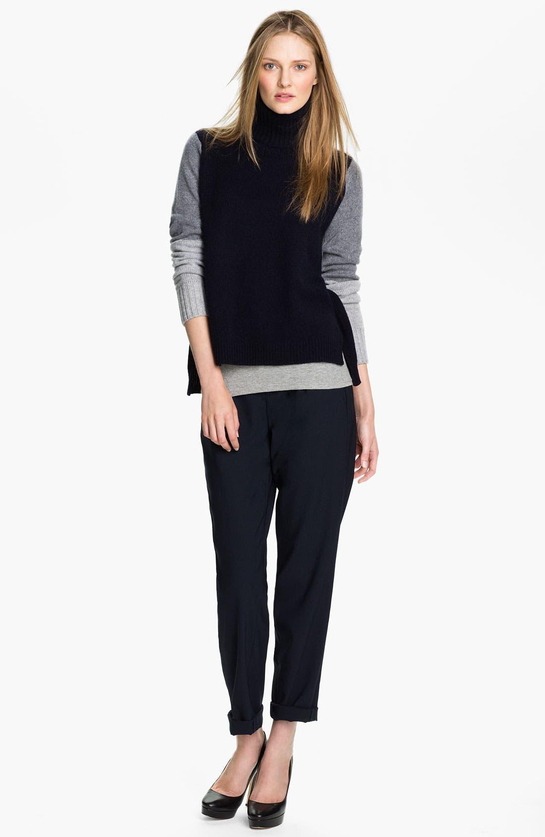 Alternate Image 1 Selected - Vince Colorblock Turtleneck Sweater