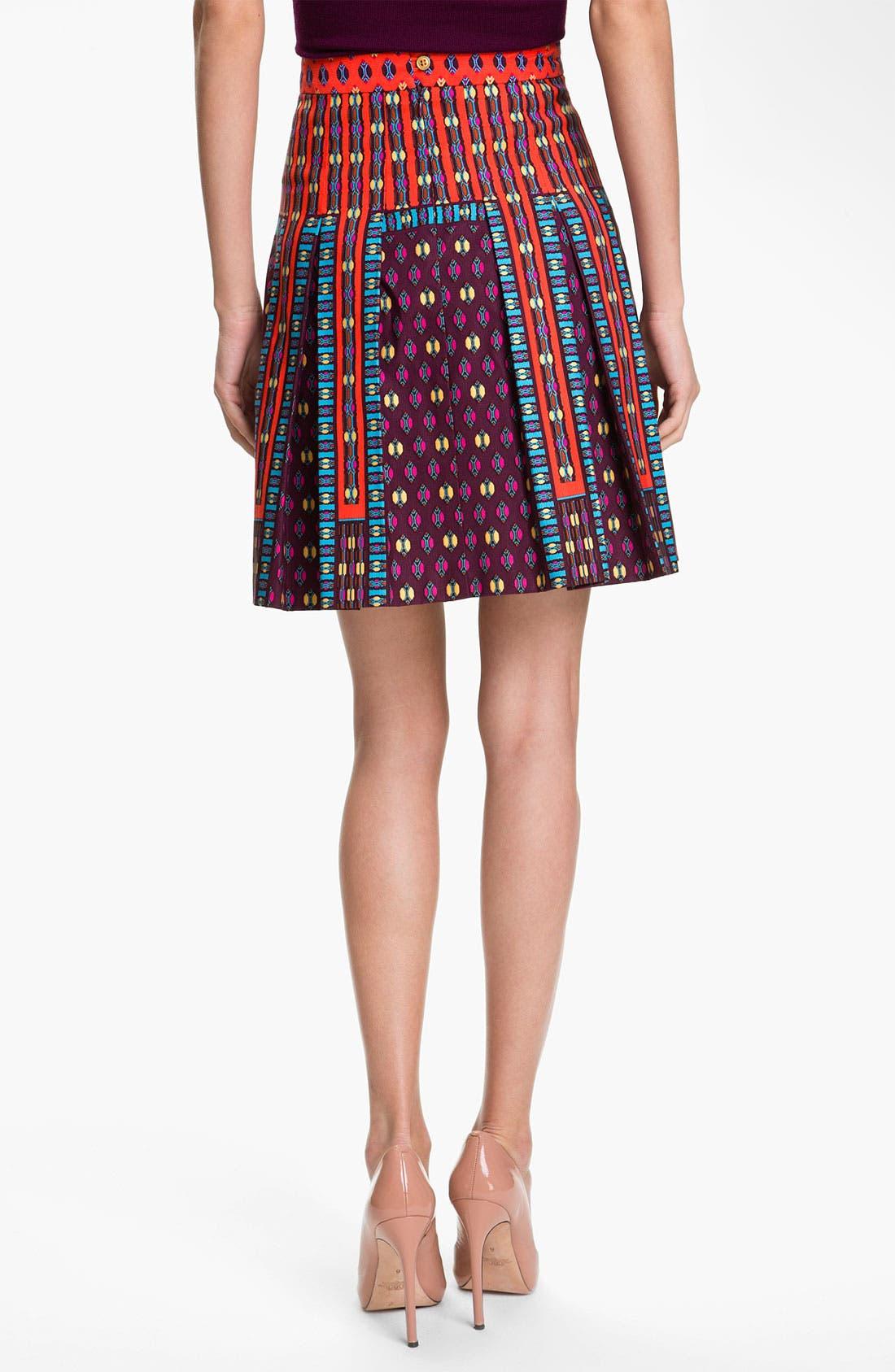 Alternate Image 2  - Nanette Lepore 'Universe' Pleated A-Line Skirt
