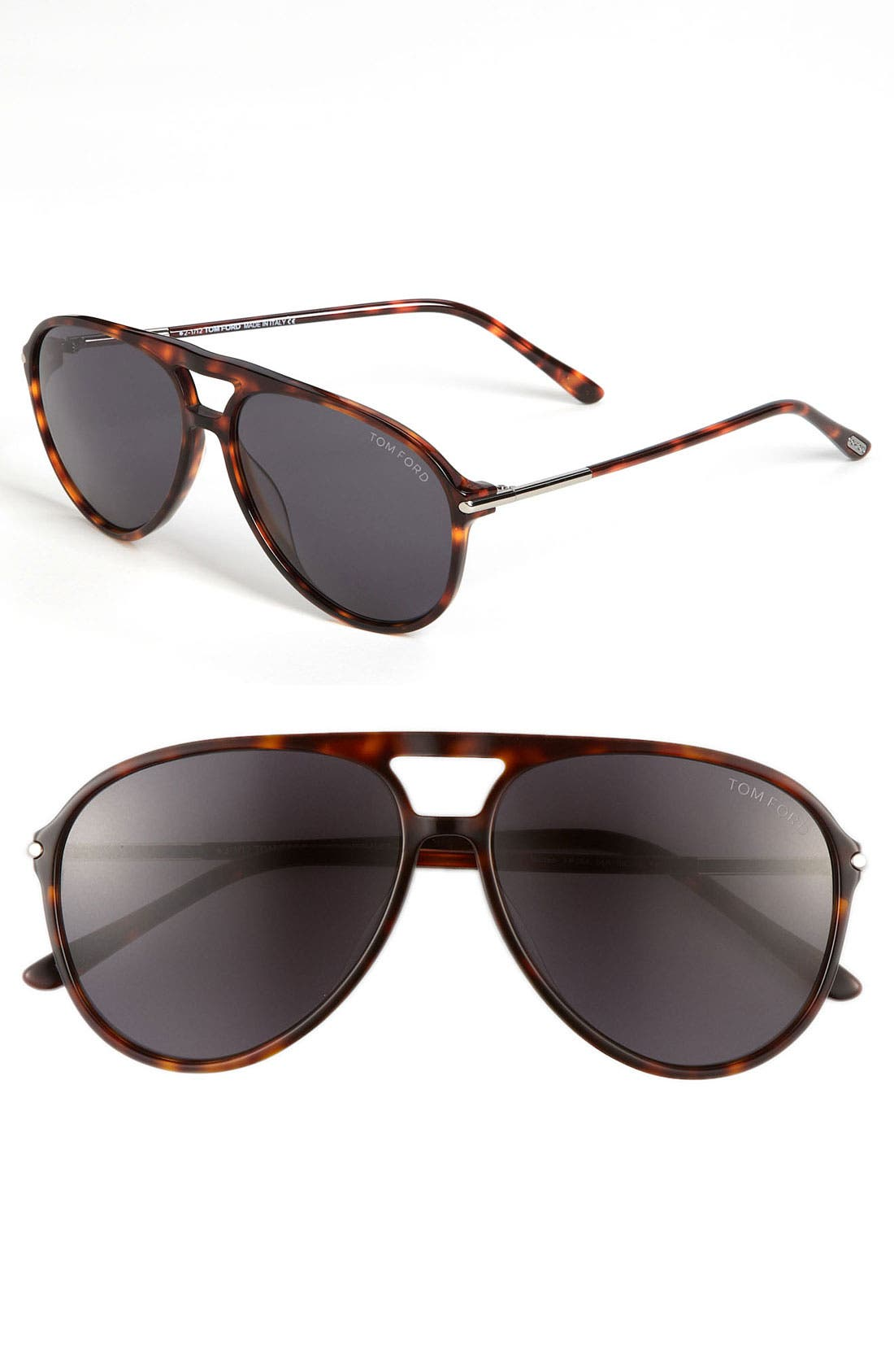 Alternate Image 1 Selected - Tom Ford 59mm Aviator Sunglasses