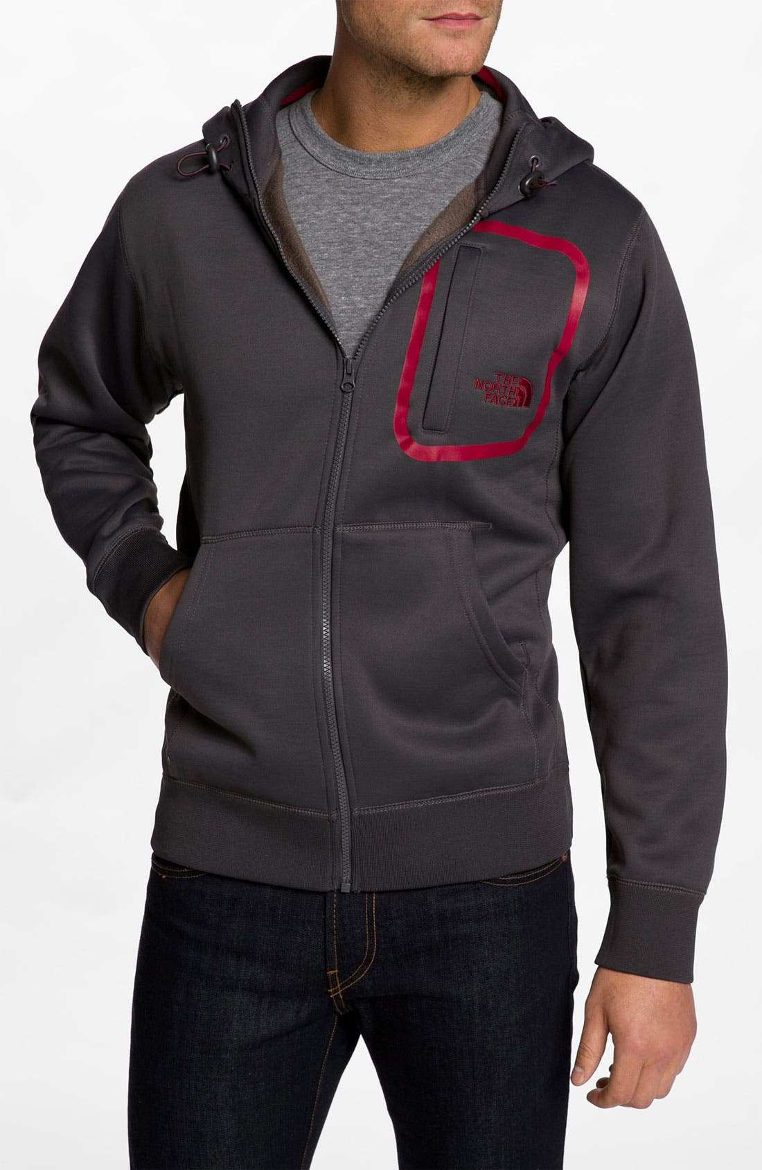Alternate Image 1 Selected - The North Face '88 Blocks' Zip Hoodie