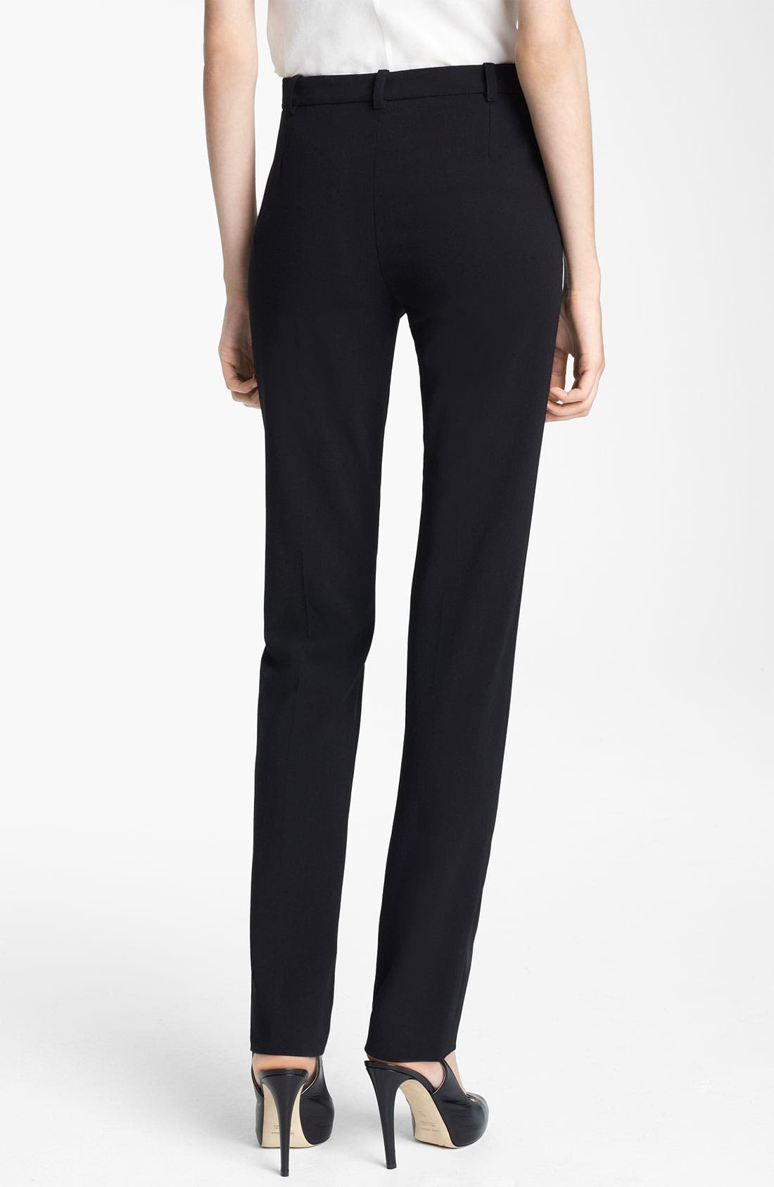 Alternate Image 2  - Armani Collezioni Crepe Pants