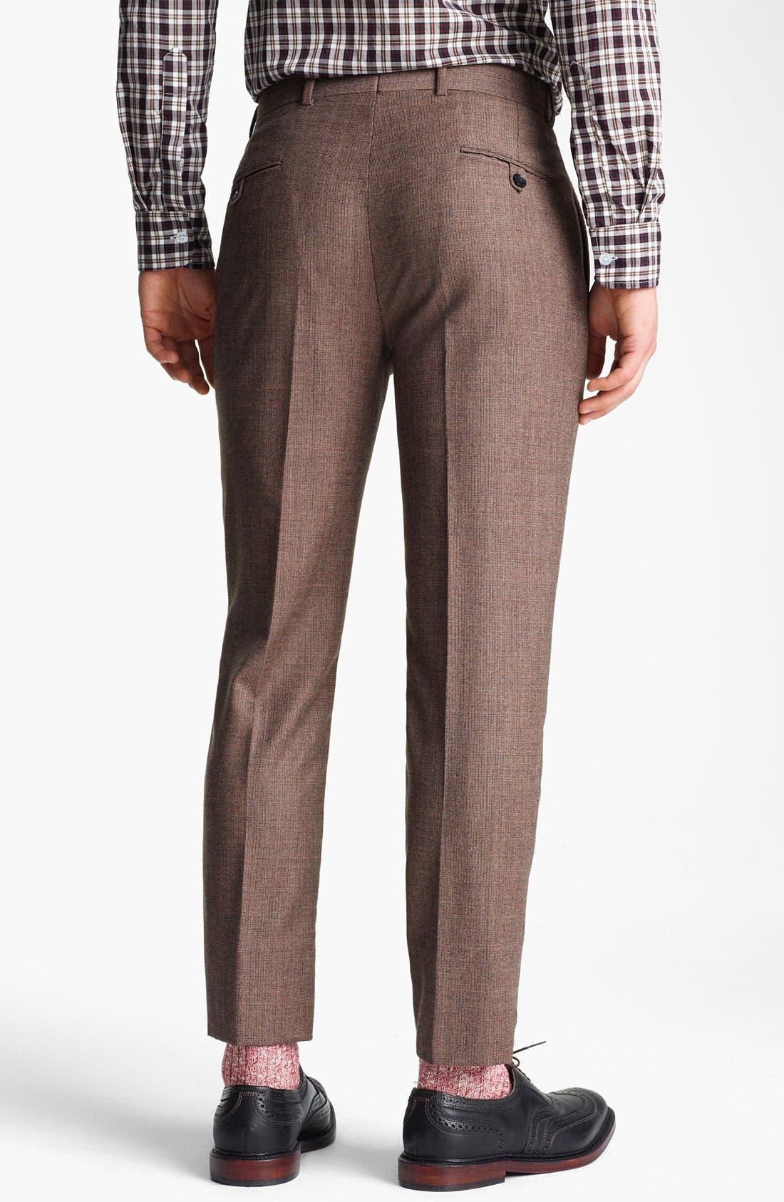 Alternate Image 5  - Billy Reid 'Campbell - Heirloom Collection' Tweed Suit