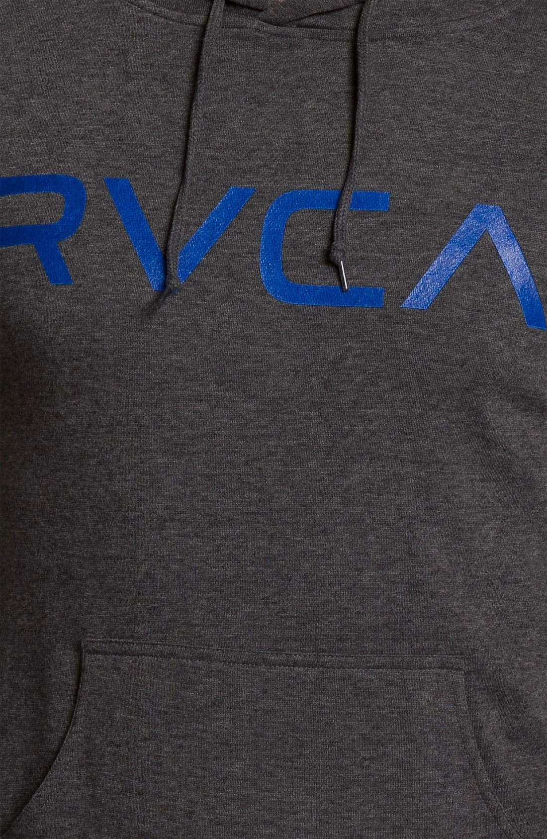 Alternate Image 3  - RVCA Pullover Hoodie