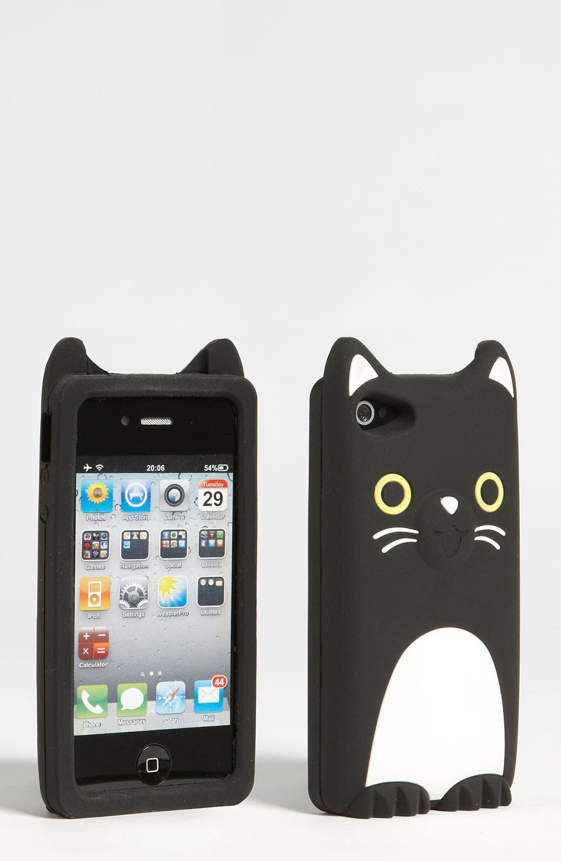Alternate Image 1 Selected - BP. iPhone 4 & 4S Kitten Case