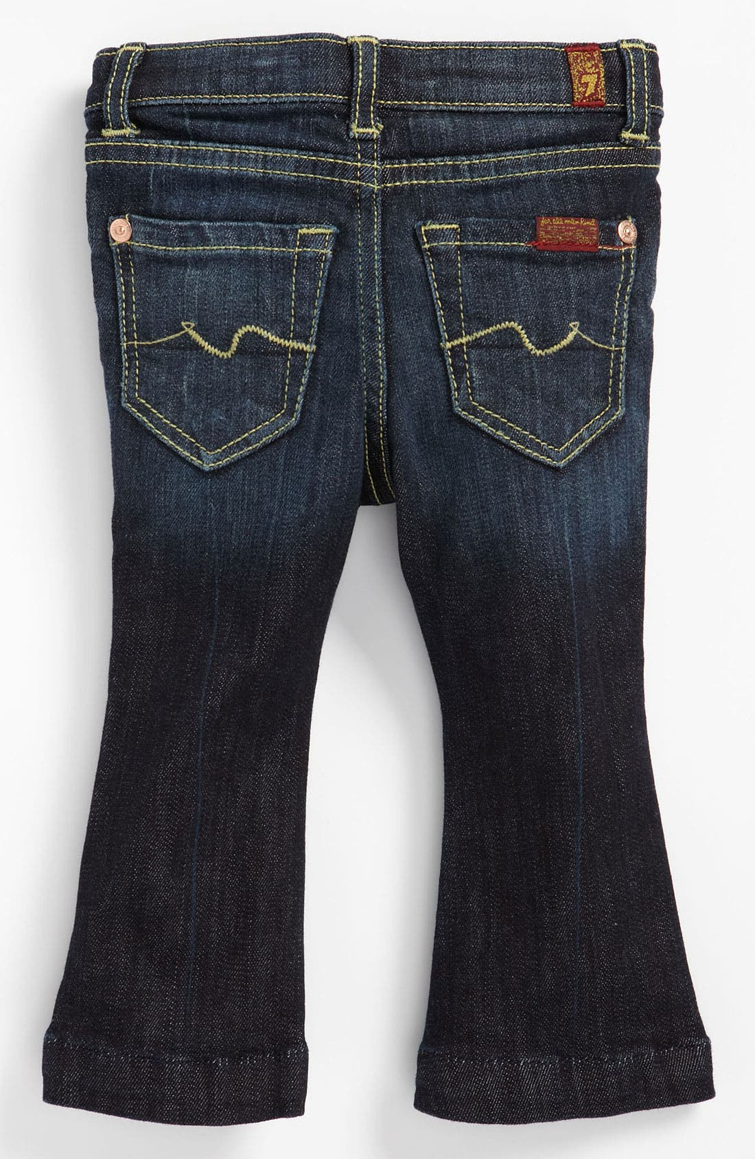 Alternate Image 1 Selected - 7 For All Mankind® 'Kaylie' Slim Fit Bootcut Jeans (Infant)