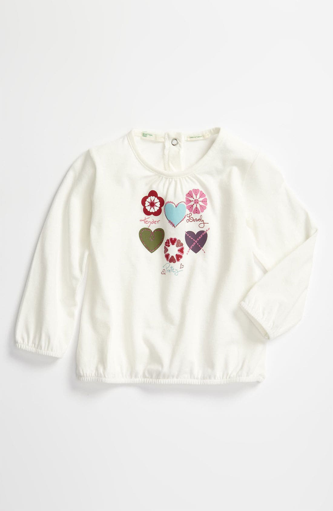 Main Image - United Colors of Benetton Kids 'Lovely' Tee (Infant)