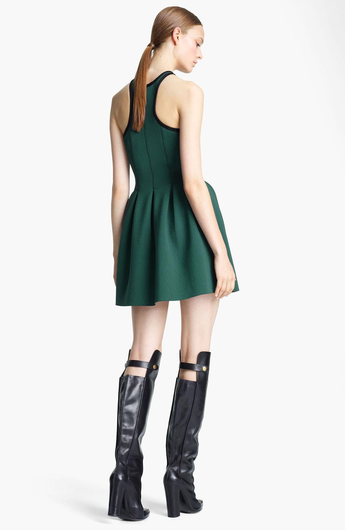 Alternate Image 2  - T by Alexander Wang 'Neoprene' Pleated Dress