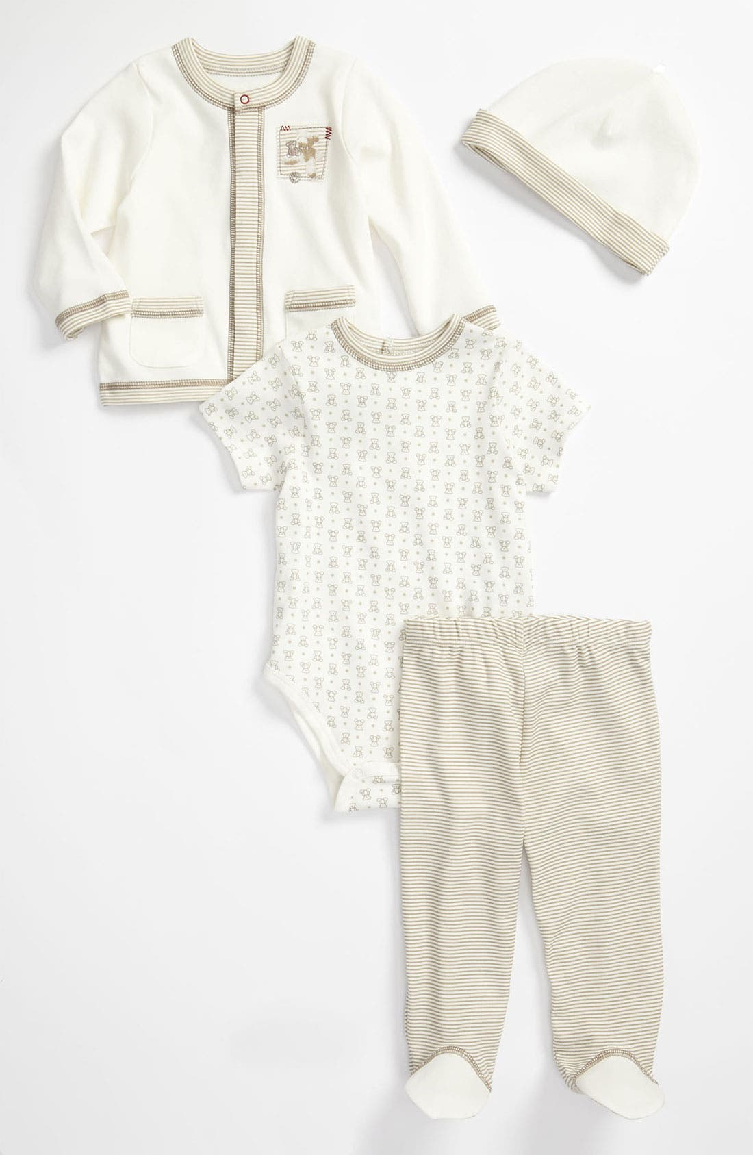 Alternate Image 1 Selected - Little Me Cardigan & Leggings Set (Infant)