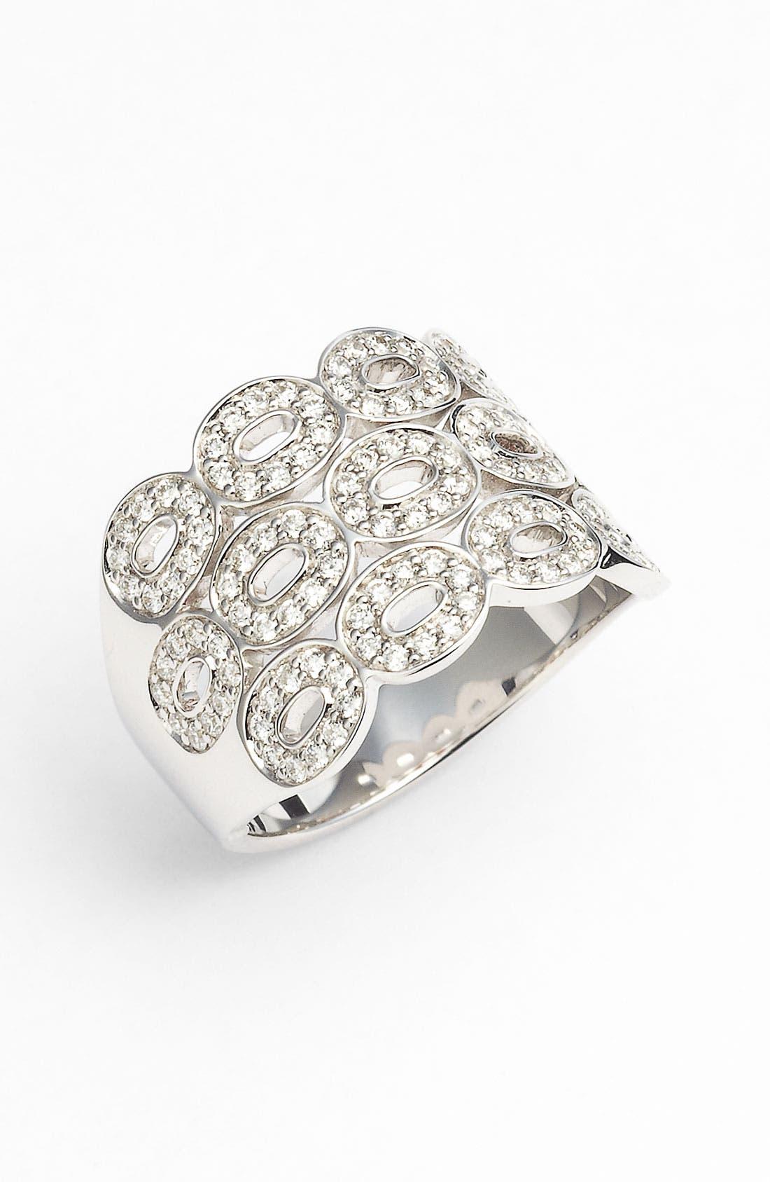 Alternate Image 1 Selected - Ivanka Trump Triple Row Diamond Ring