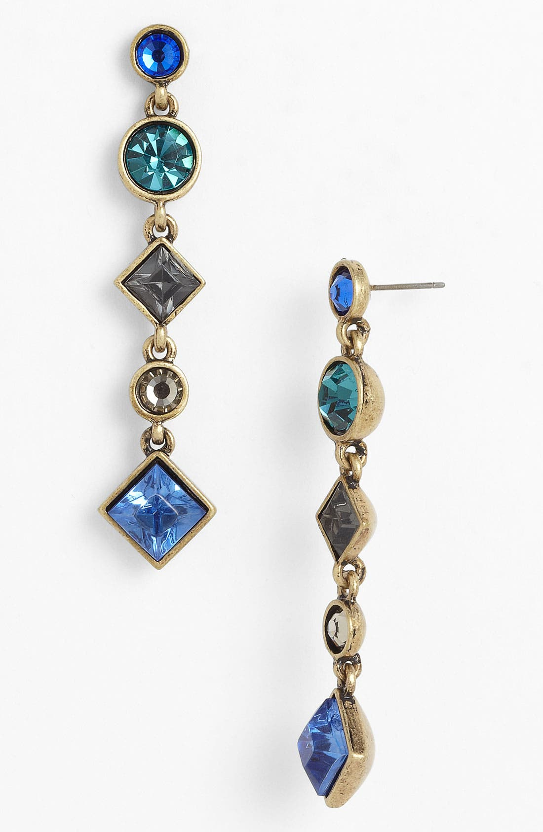 Alternate Image 1 Selected - Nordstrom 'Old Hollywood' Linear Earrings