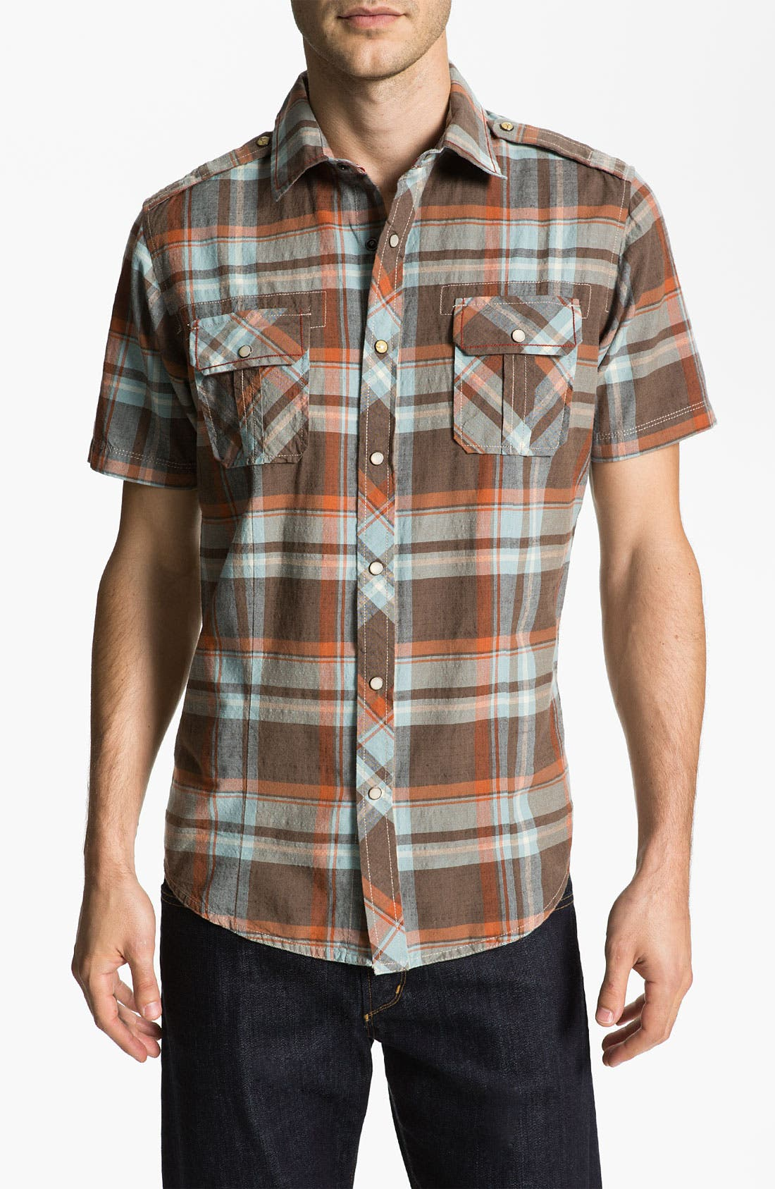 Alternate Image 1 Selected - Jeremiah 'Knoxville' Woven Sport Shirt
