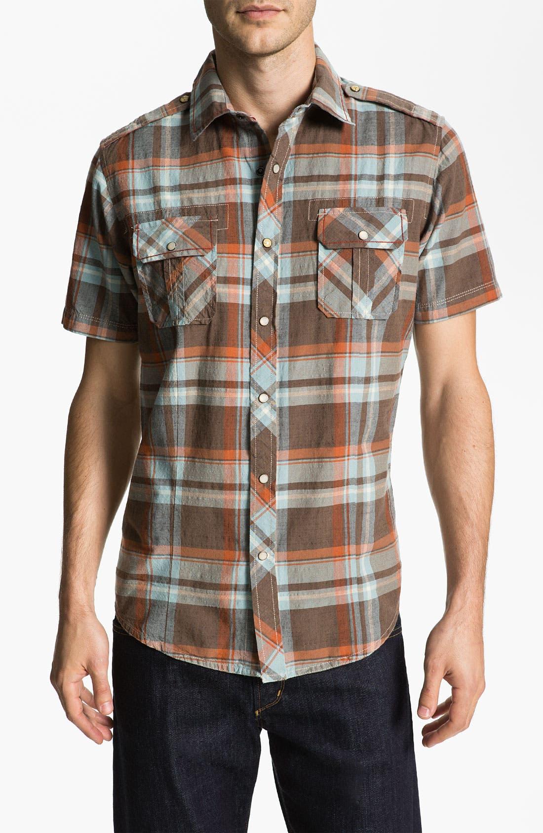 Main Image - Jeremiah 'Knoxville' Woven Sport Shirt