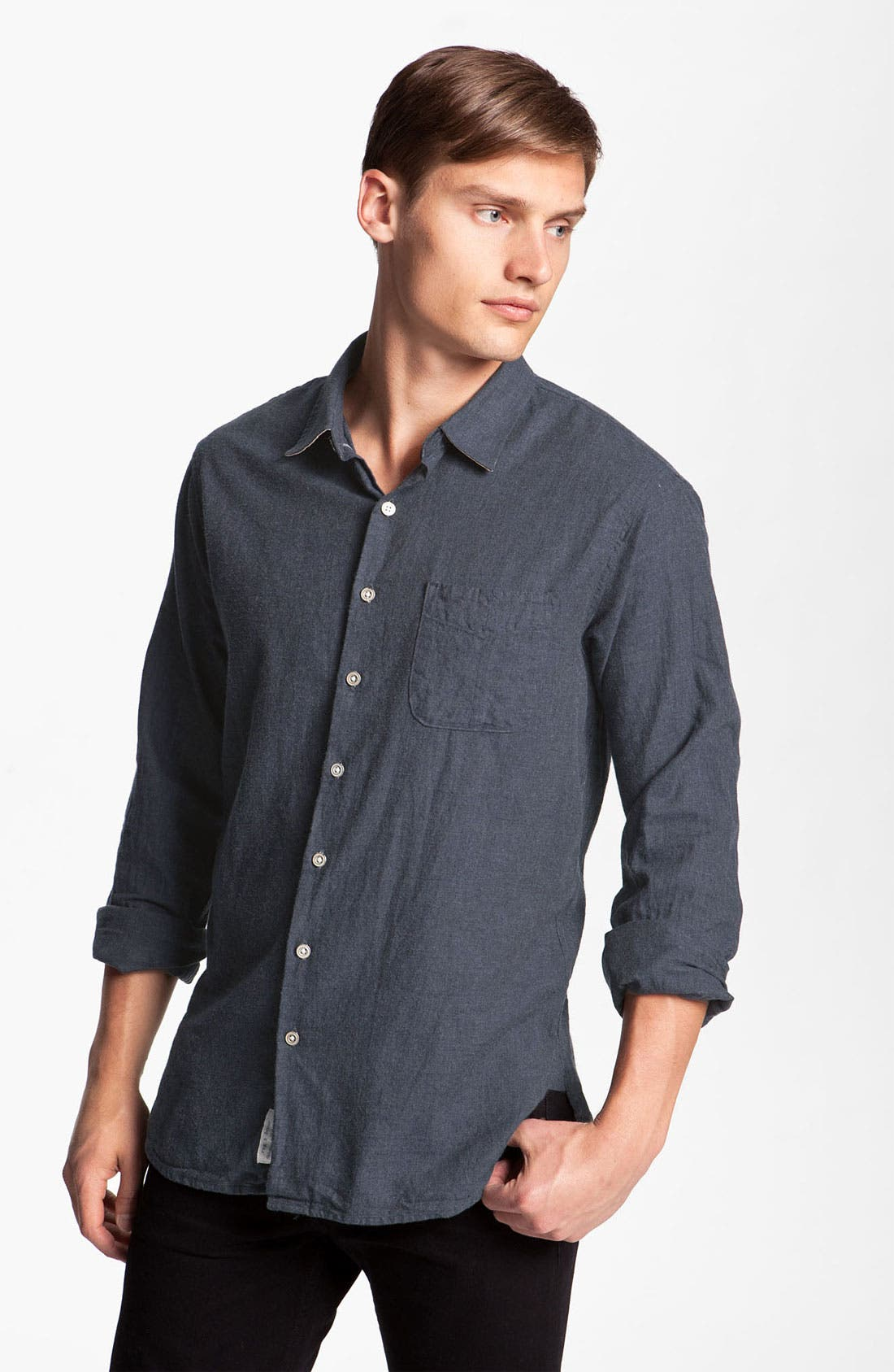 Alternate Image 1 Selected - rag & bone 'Beach' Woven Shirt