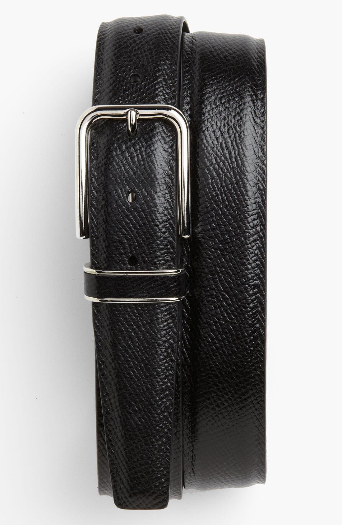 Main Image - Canali 'Vitello Martellato' Belt