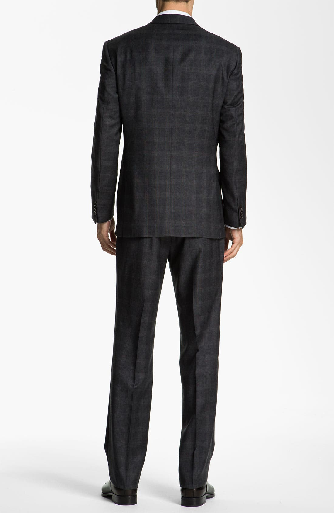 Alternate Image 3  - John Varvatos Star USA 'Bedford' Trim Fit Plaid Suit