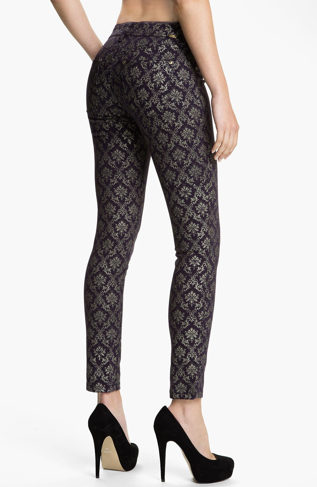 Alternate Image 2  - DL1961 'Emma' Skinny Jeans (Ornate)