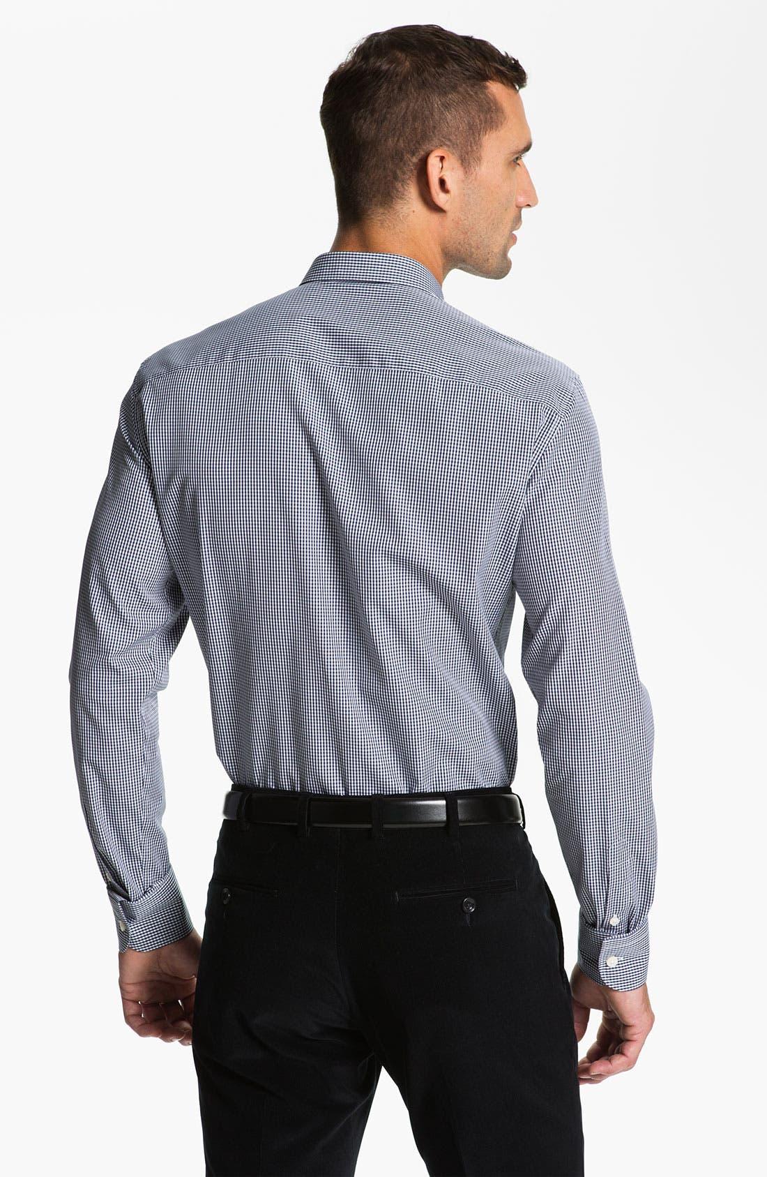 Alternate Image 2  - Z Zegna Extra Trim Fit Dress Shirt